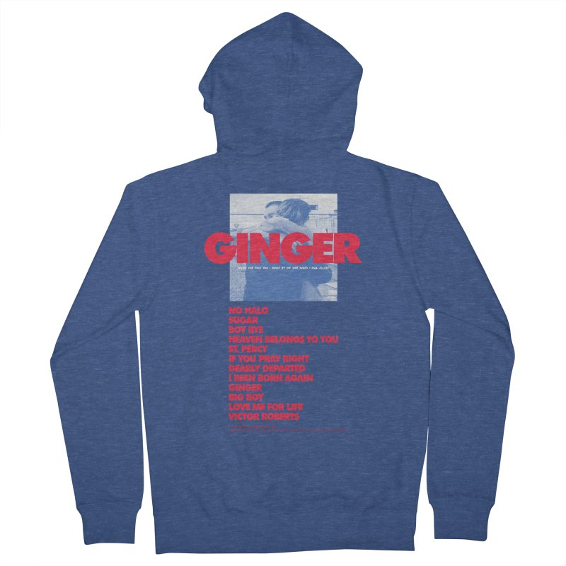 BROCKHAMPTON GINGER Men's French Terry Zip-Up Hoody by tulleceria