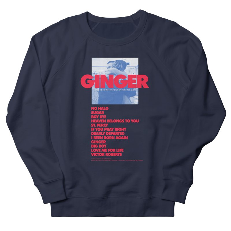 BROCKHAMPTON GINGER Women's French Terry Sweatshirt by tulleceria