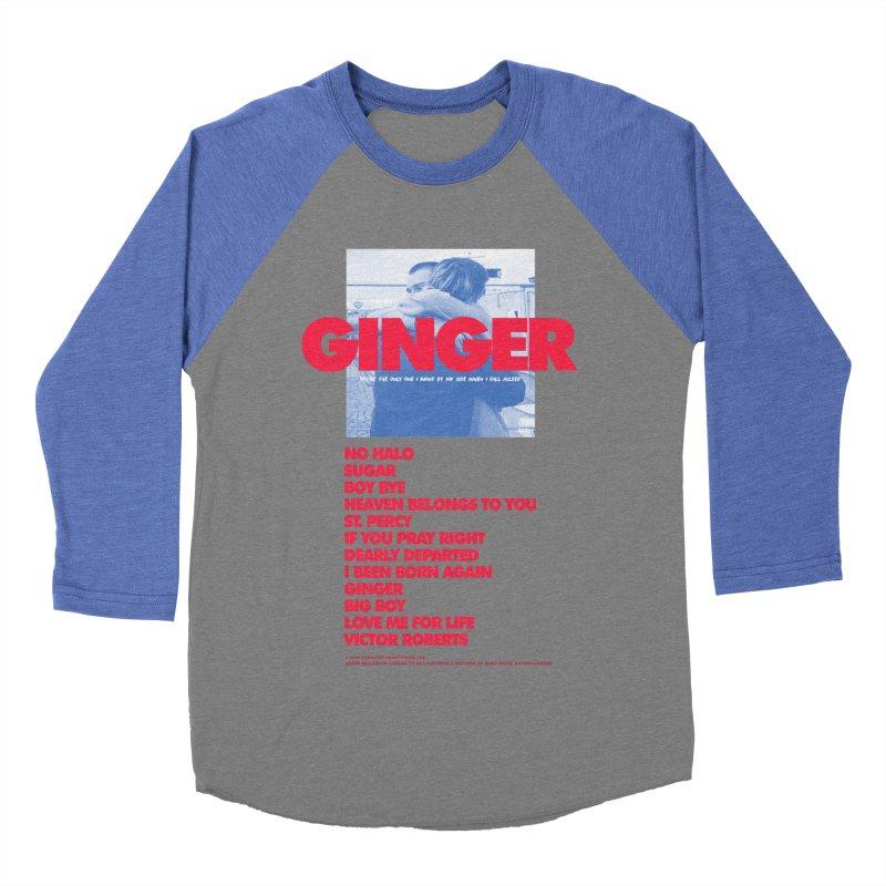 BROCKHAMPTON GINGER Men's Baseball Triblend Longsleeve T-Shirt by tulleceria
