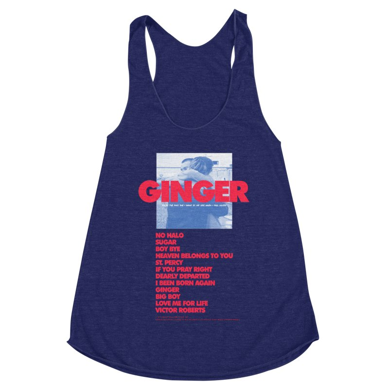 BROCKHAMPTON GINGER Women's Racerback Triblend Tank by tulleceria