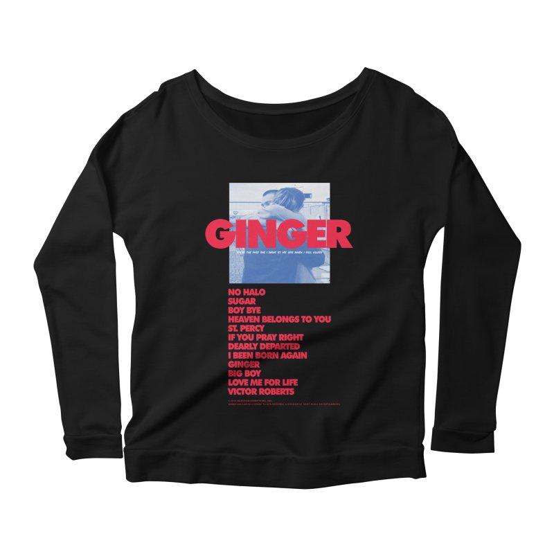 BROCKHAMPTON GINGER Women's Scoop Neck Longsleeve T-Shirt by tulleceria