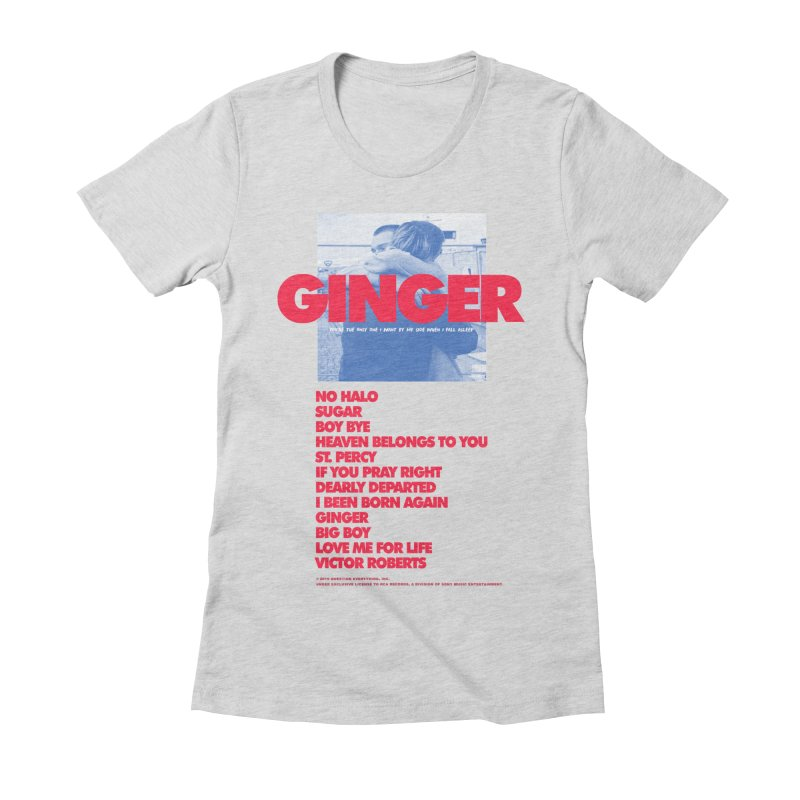 BROCKHAMPTON GINGER Women's Fitted T-Shirt by tulleceria