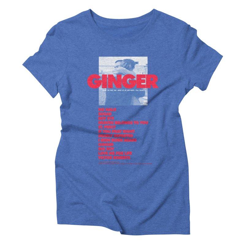 BROCKHAMPTON GINGER Women's Triblend T-Shirt by tulleceria