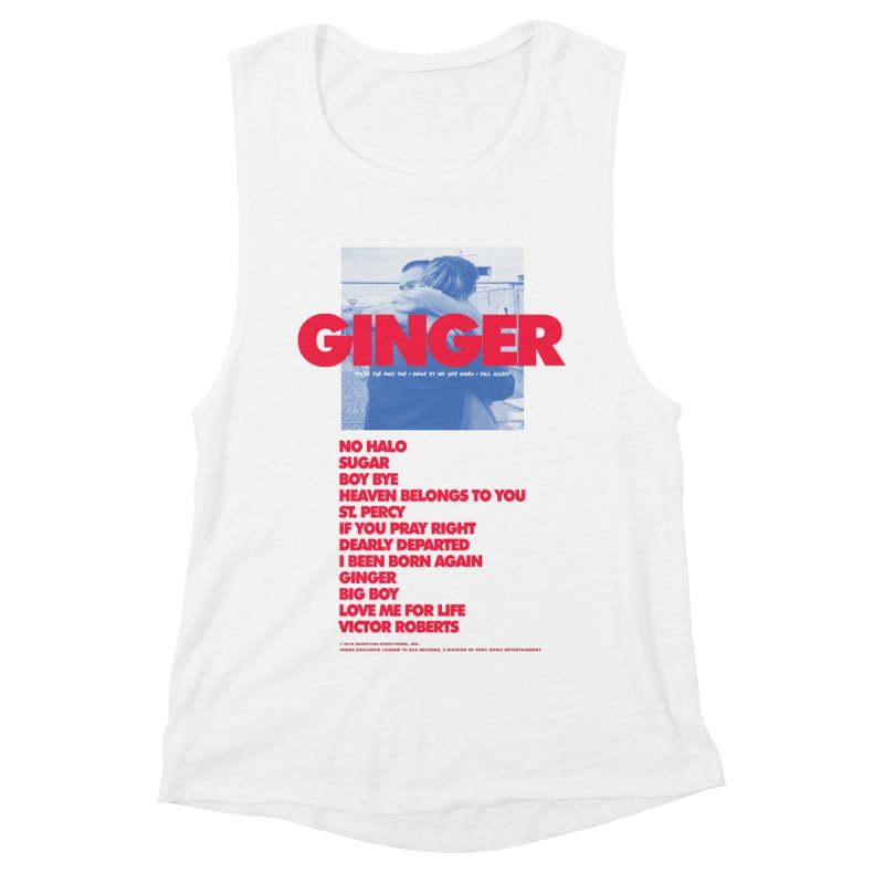 BROCKHAMPTON GINGER Women's Muscle Tank by tulleceria