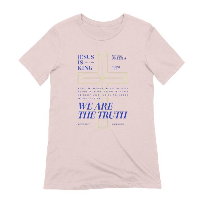 Kanye West Jesus Is King Women's Extra Soft T-Shirt by tulleceria