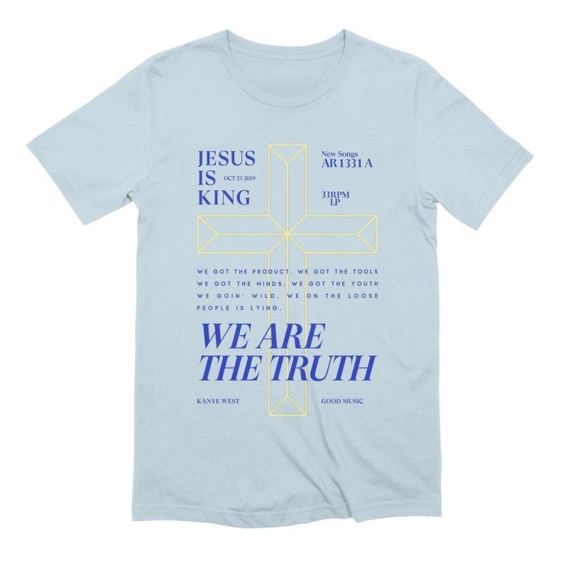 Kanye West Jesus Is King Men's T-Shirt by tulleceria