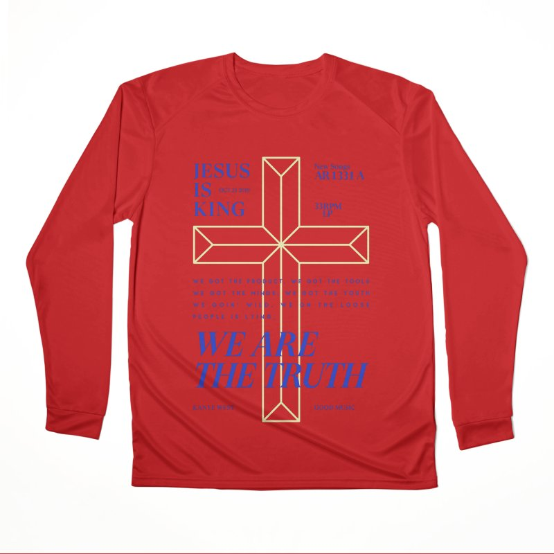 Kanye West Jesus Is King Men's Performance Longsleeve T-Shirt by tulleceria
