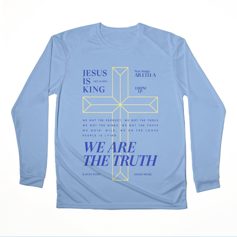 Kanye West Jesus Is King Women's Performance Unisex Longsleeve T-Shirt by tulleceria