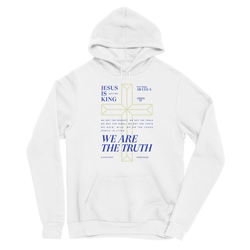 Kanye West Jesus Is King Women's Pullover Hoody by tulleceria