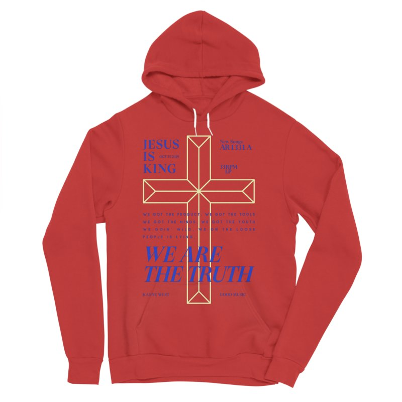 Kanye West Jesus Is King Women's Sponge Fleece Pullover Hoody by tulleceria