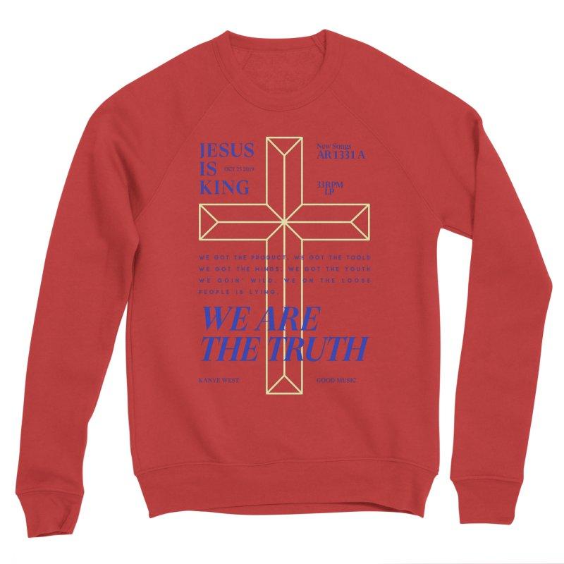 Kanye West Jesus Is King Men's Sweatshirt by tulleceria