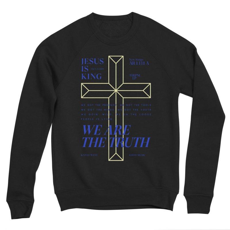 Kanye West Jesus Is King Women's Sponge Fleece Sweatshirt by tulleceria
