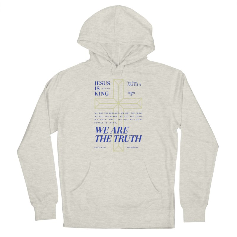 Kanye West Jesus Is King Men's Pullover Hoody by tulleceria