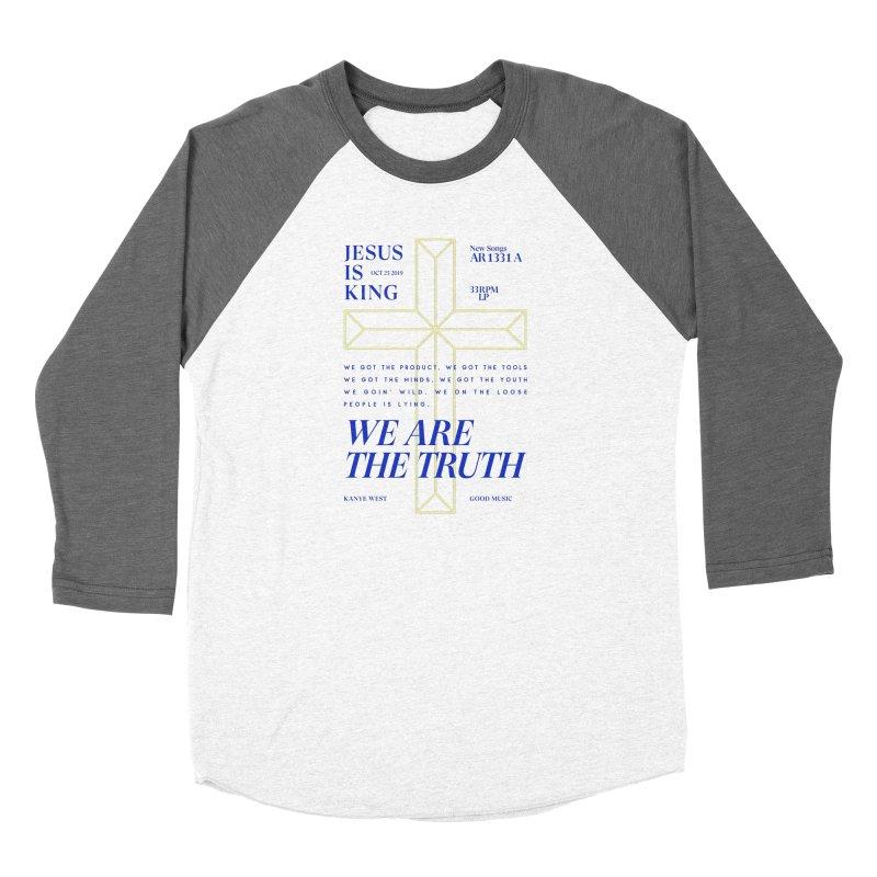Kanye West Jesus Is King Women's Longsleeve T-Shirt by tulleceria