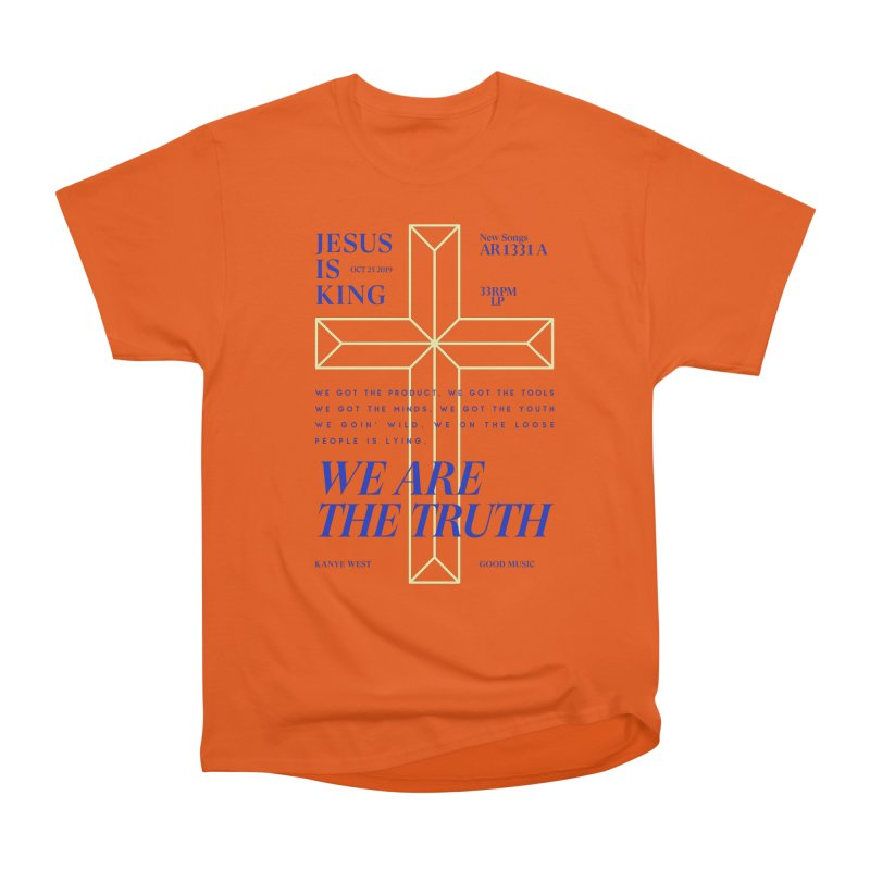 Kanye West Jesus Is King Men's Heavyweight T-Shirt by tulleceria