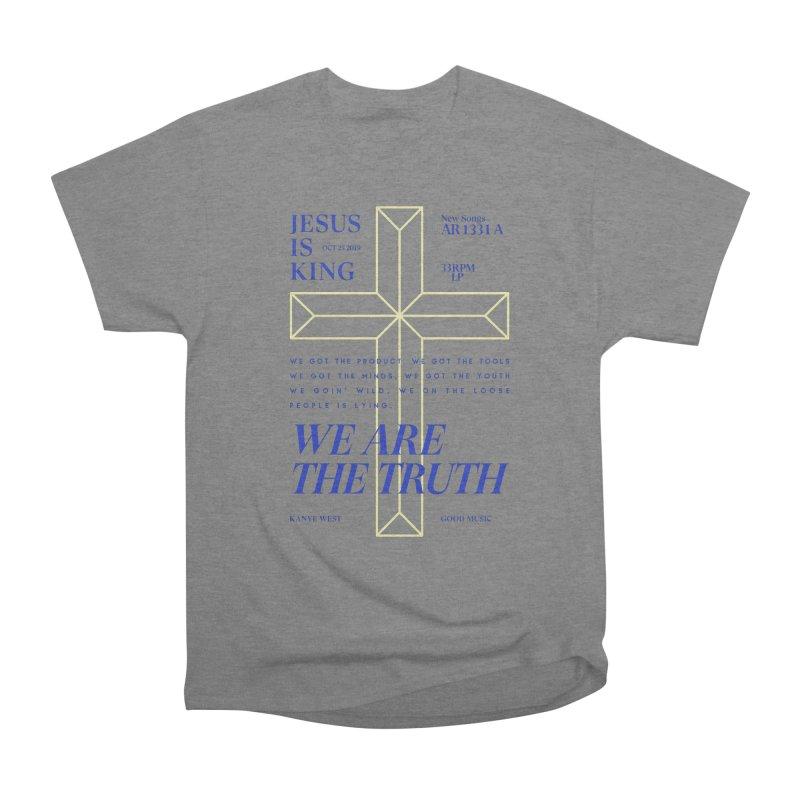Kanye West Jesus Is King Women's Heavyweight Unisex T-Shirt by tulleceria