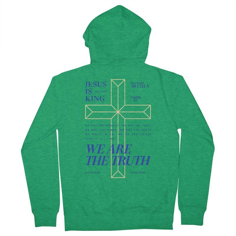 Kanye West Jesus Is King Men's Zip-Up Hoody by tulleceria
