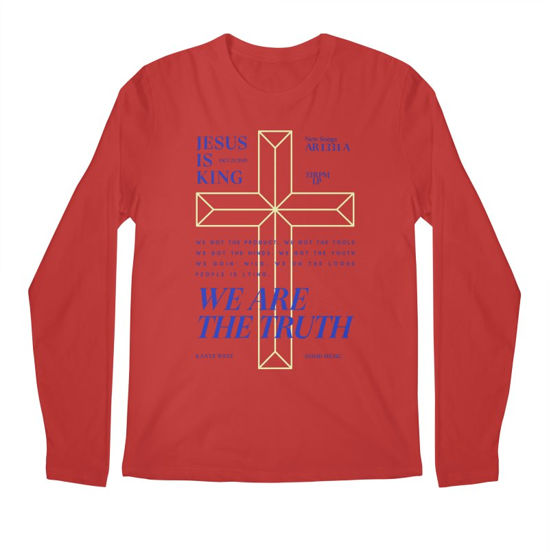 Kanye West Jesus Is King Men's Longsleeve T-Shirt by tulleceria
