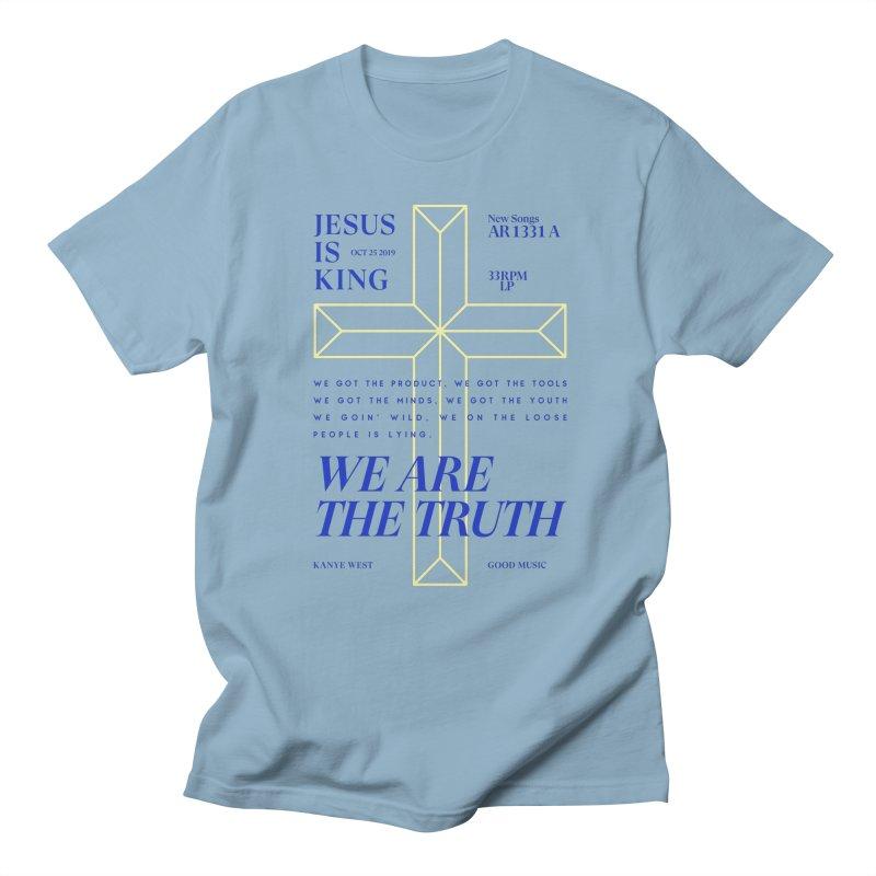 Kanye West Jesus Is King Men's Regular T-Shirt by tulleceria