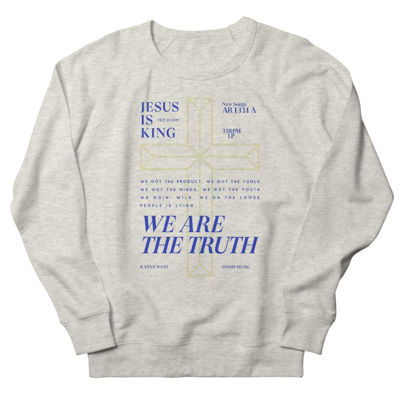 Kanye West Jesus Is King Men's French Terry Sweatshirt by tulleceria