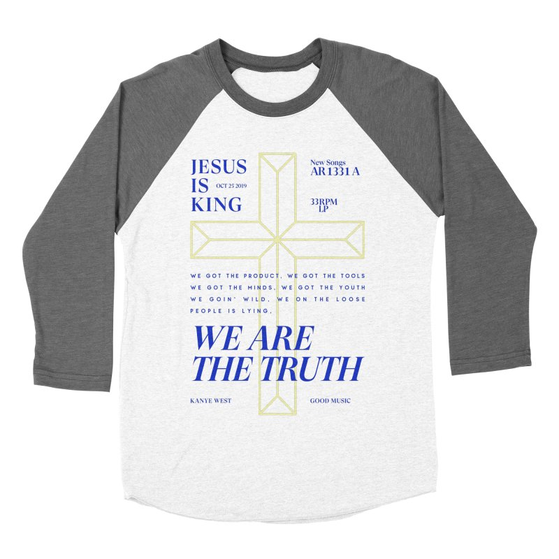 Kanye West Jesus Is King Women's Longsleeve T-Shirt by tulleceria