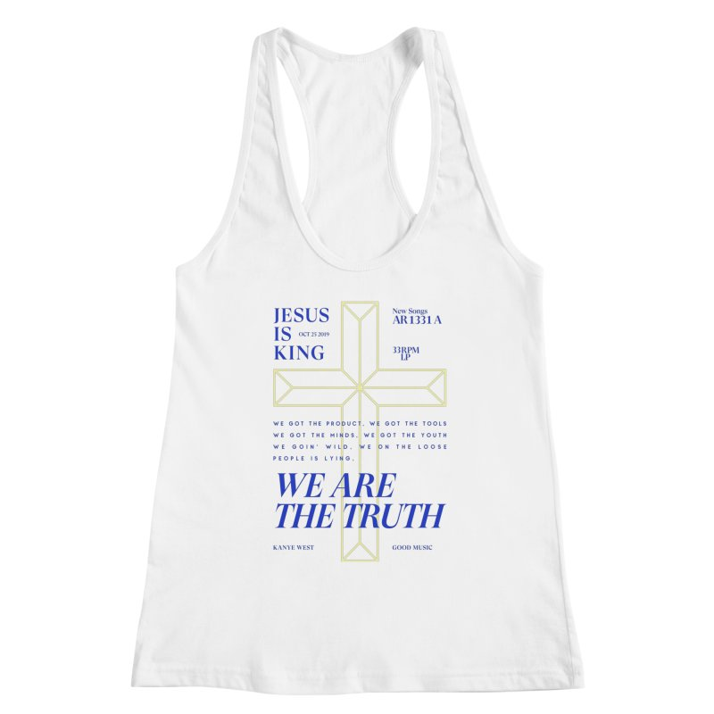 Kanye West Jesus Is King Women's Tank by tulleceria