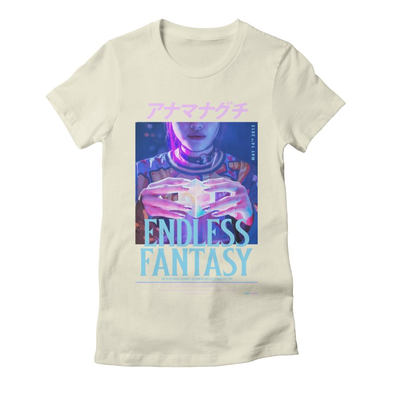 Anamanaguchi Women's Fitted T-Shirt by tulleceria