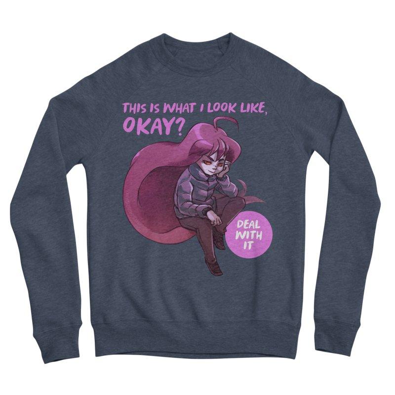 Badeline Women's Sponge Fleece Sweatshirt by tulleceria