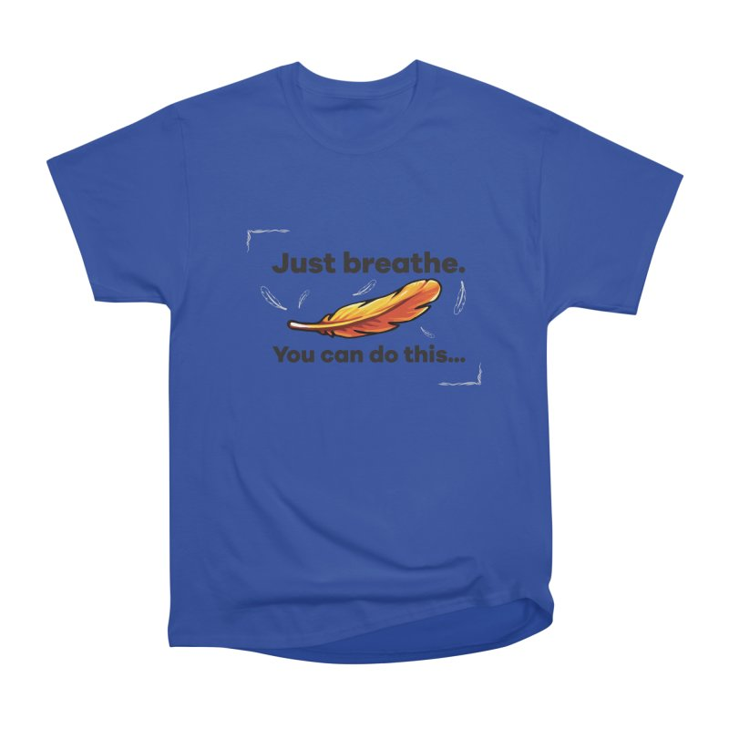 Feather Men's Heavyweight T-Shirt by tulleceria