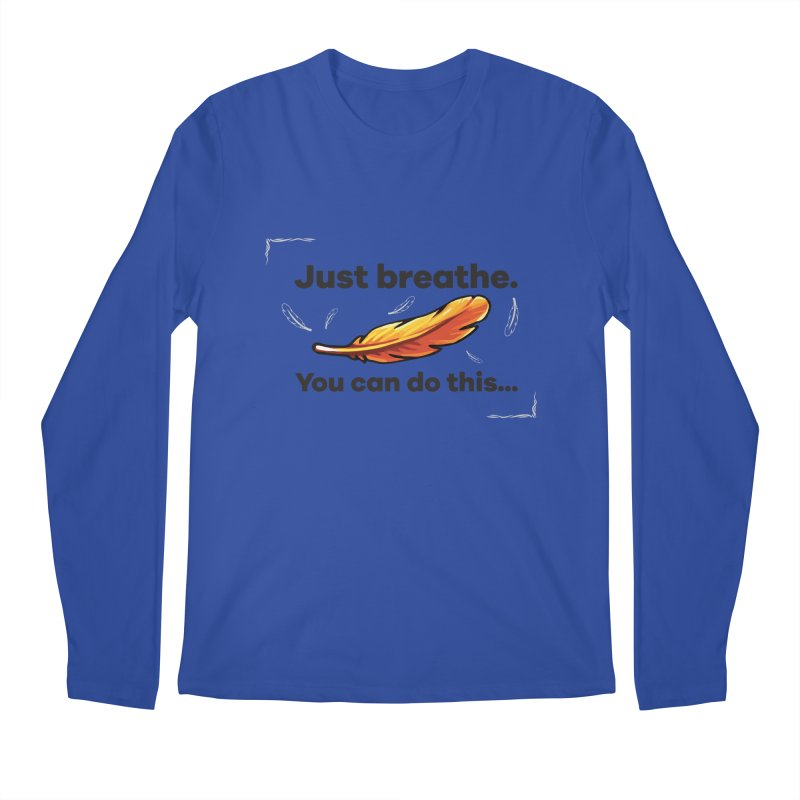Feather Men's Longsleeve T-Shirt by tulleceria