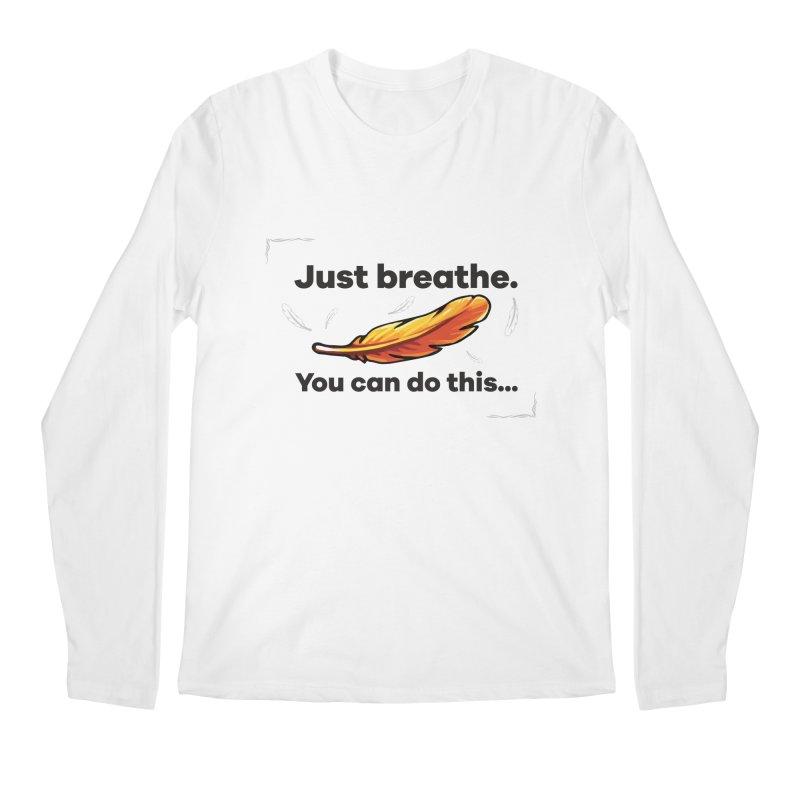 Feather Men's Regular Longsleeve T-Shirt by tulleceria