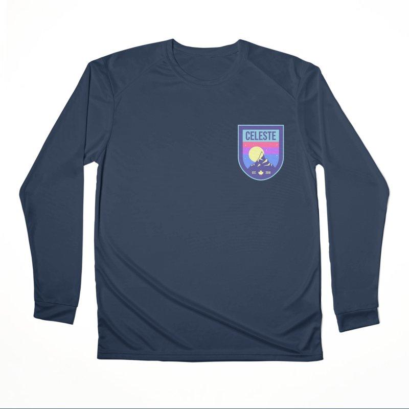 Badge Men's Performance Longsleeve T-Shirt by tulleceria