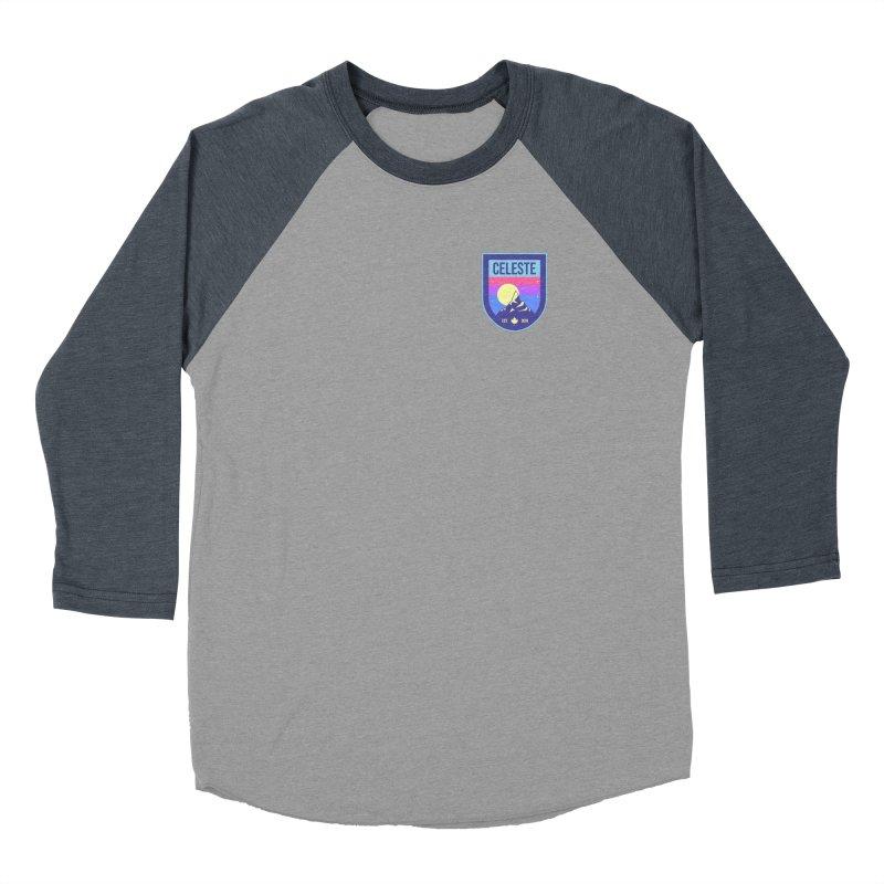 Badge Men's Baseball Triblend Longsleeve T-Shirt by tulleceria