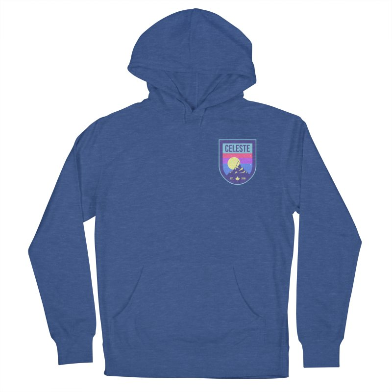 Badge Women's French Terry Pullover Hoody by tulleceria