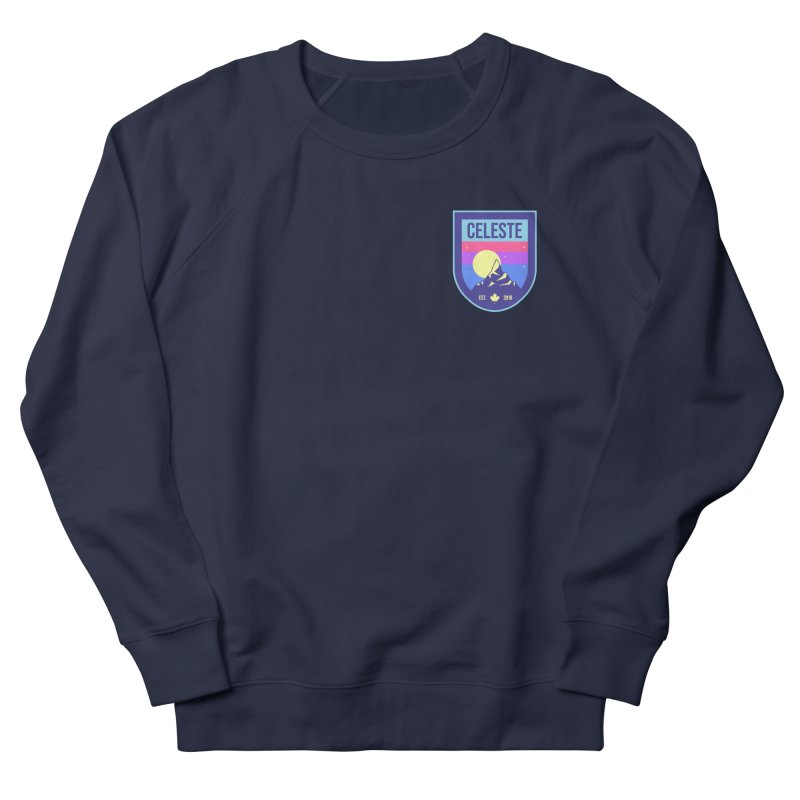 Badge Women's French Terry Sweatshirt by tulleceria