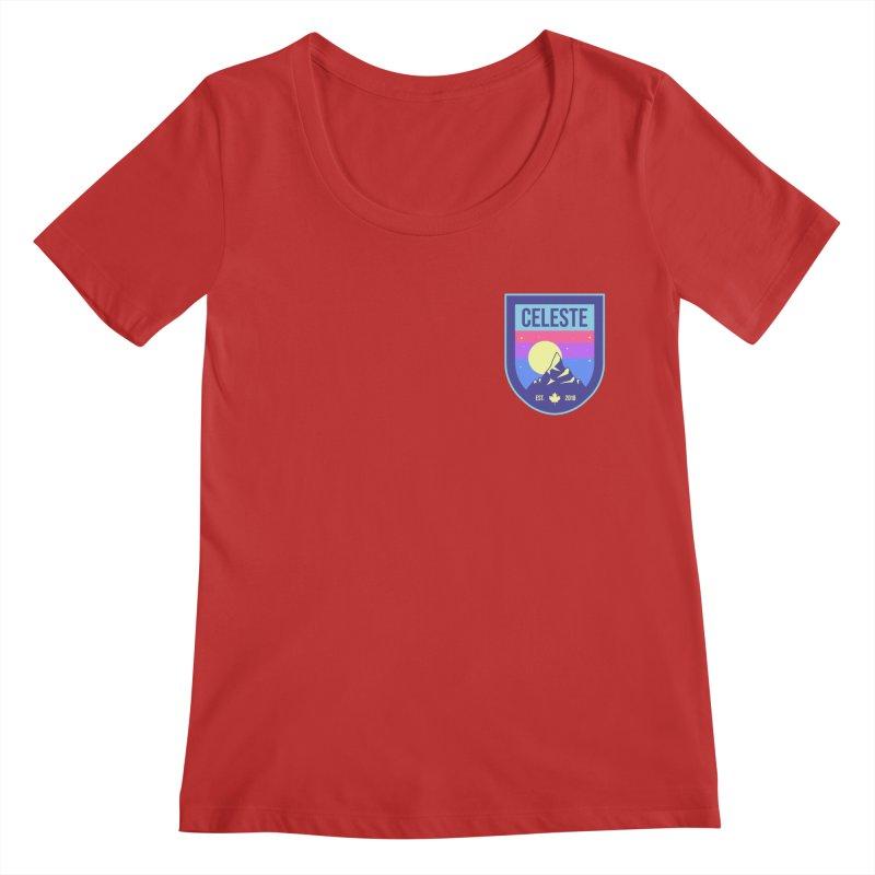 Badge Women's Regular Scoop Neck by tulleceria