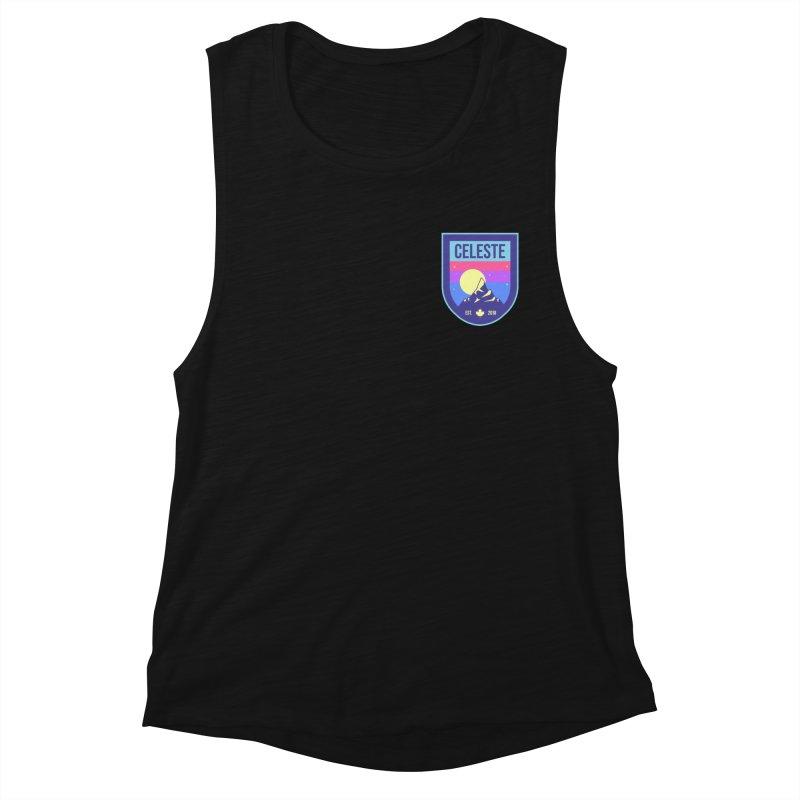 Badge Women's Muscle Tank by tulleceria