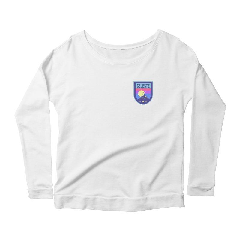 Badge Women's Scoop Neck Longsleeve T-Shirt by tulleceria