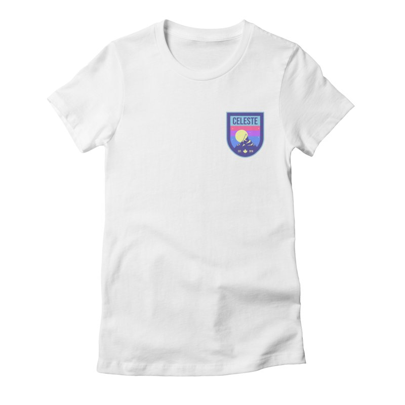 Badge Women's Fitted T-Shirt by tulleceria