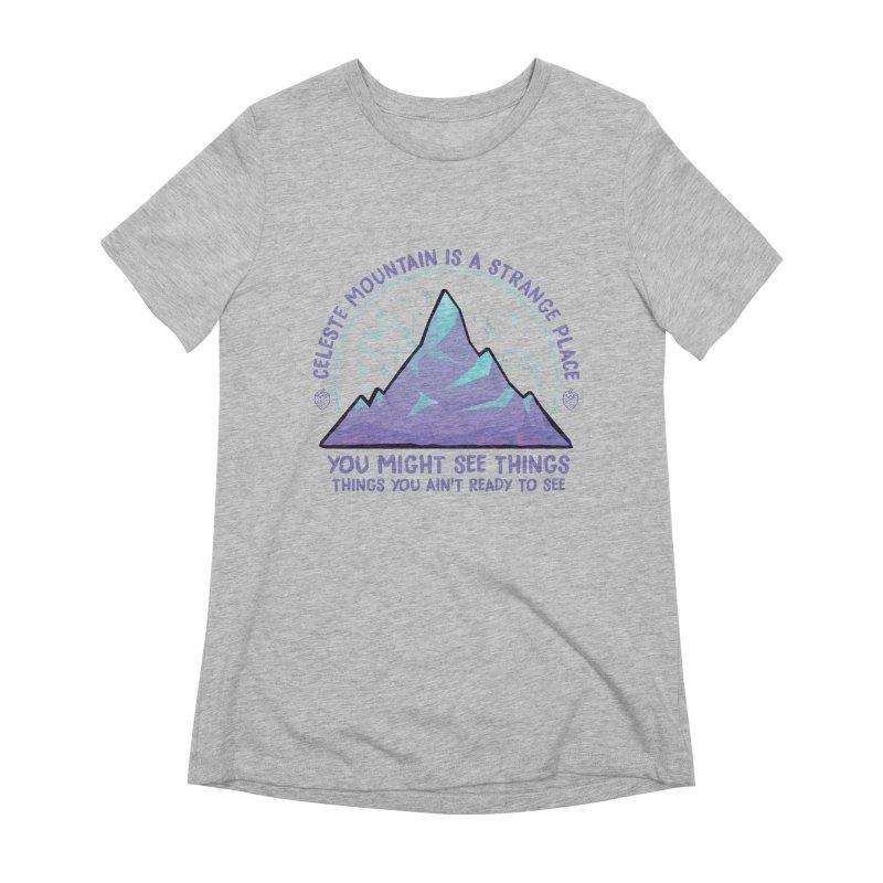 Mountain Women's T-Shirt by tulleceria