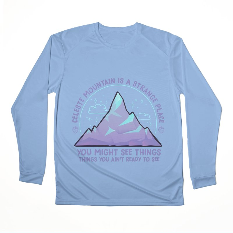 Mountain Men's Performance Longsleeve T-Shirt by tulleceria