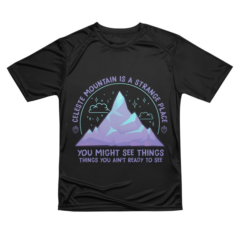 Mountain Men's Performance T-Shirt by tulleceria