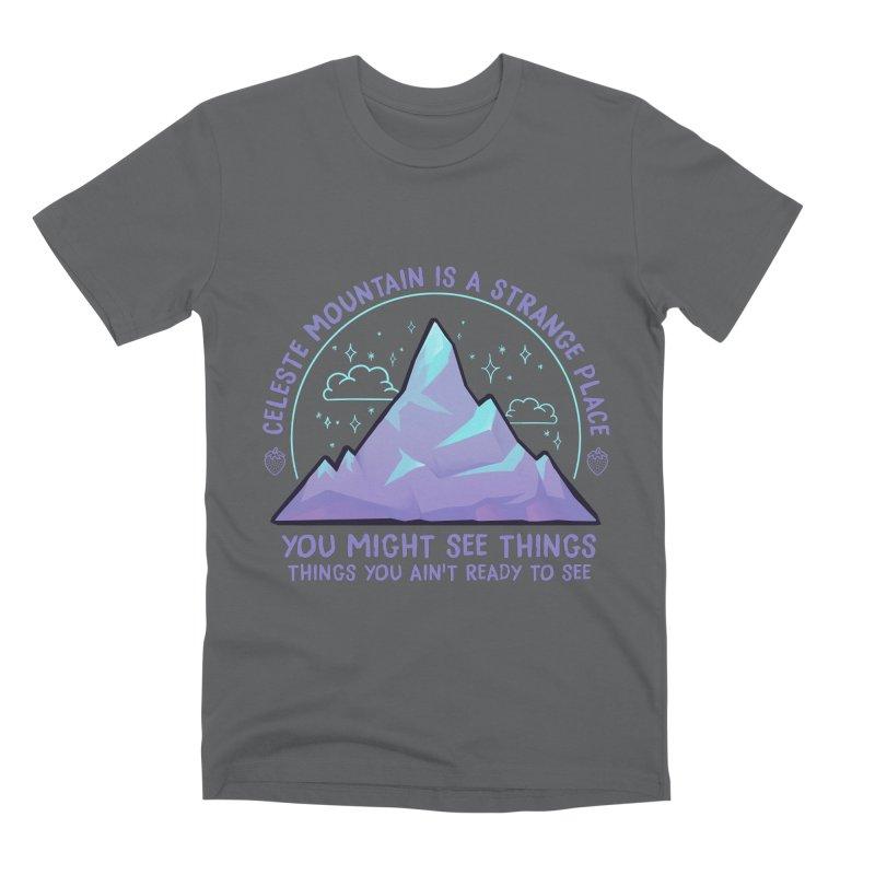 Mountain Men's Premium T-Shirt by tulleceria