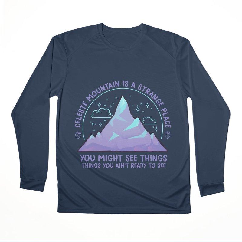 Mountain Men's Performance Longsleeve T-Shirt by tulleceria