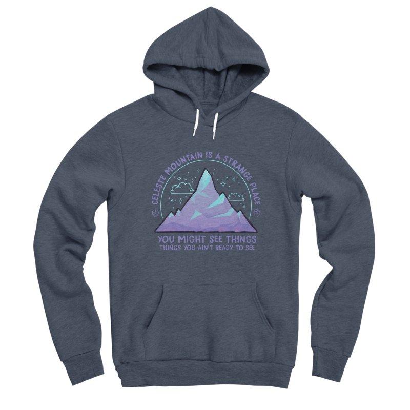 Mountain Men's Sponge Fleece Pullover Hoody by tulleceria