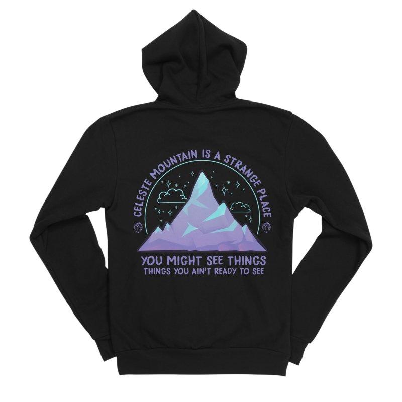Mountain Women's Sponge Fleece Zip-Up Hoody by tulleceria