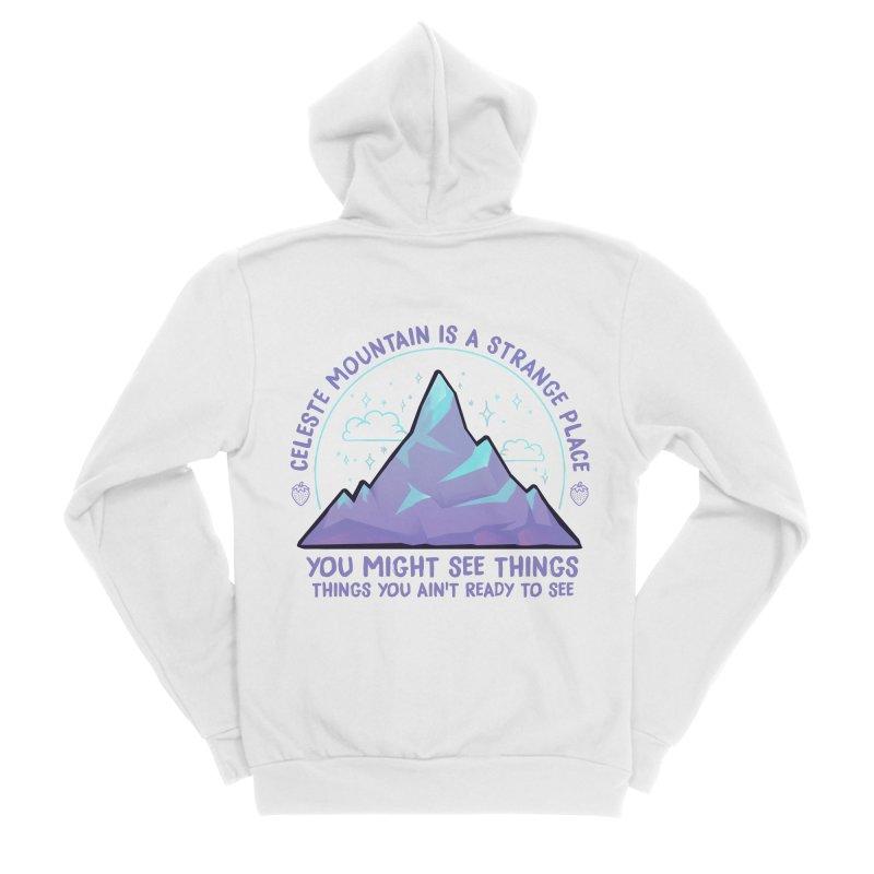 Mountain Men's Zip-Up Hoody by tulleceria