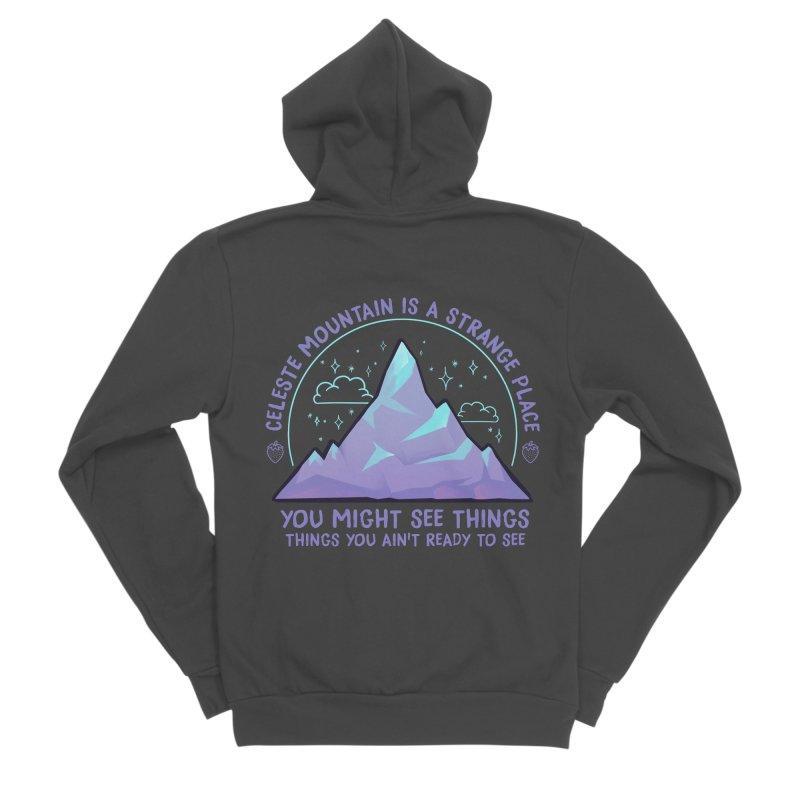 Mountain Men's Sponge Fleece Zip-Up Hoody by tulleceria
