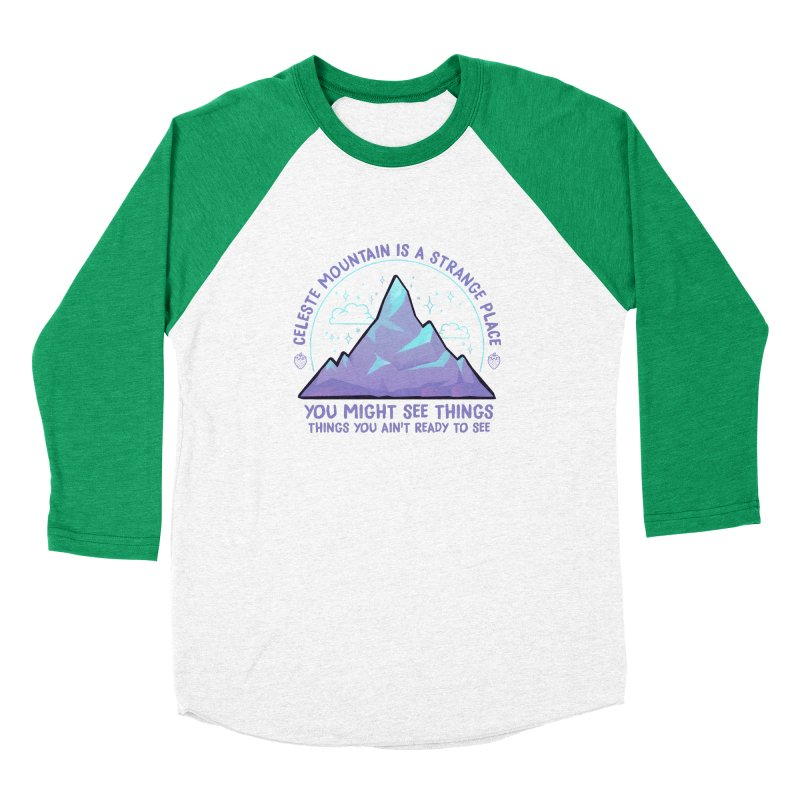 Mountain Women's Baseball Triblend Longsleeve T-Shirt by tulleceria