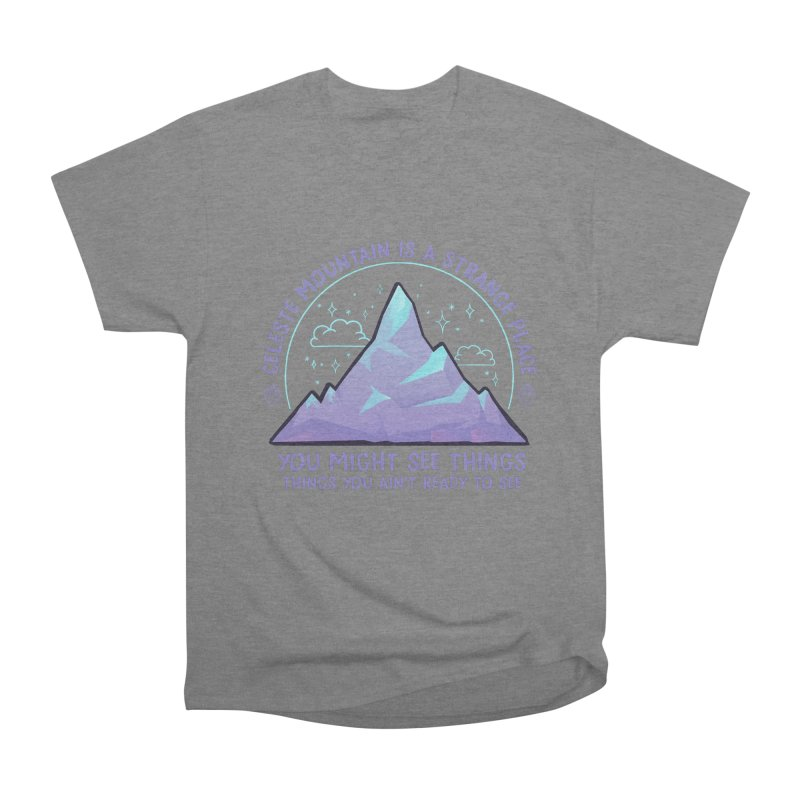 Mountain Men's Heavyweight T-Shirt by tulleceria